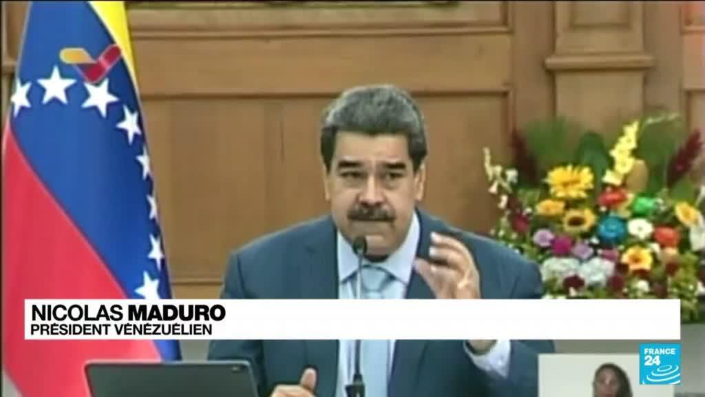 """2021-07-13 10:13 Manifestations à Cuba: """"Soutien au peuple et au gouvernement"""" du président vénézuélien Nicolas Maduro"""