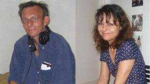 Le technicien et la journaliste de RFI, Claude Verlon et Ghislaine Dupont, assasinés le 2 novembre 2013 à Kidal dans le nord du Mali.