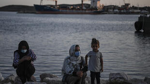 """A rights group said that over 9,000 migrants in Greece's waters were """"violently pushed back to Turkey"""" last year"""