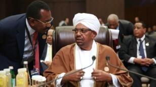 Sudanese President Omar al-Bashir attended an Arab League summit in the Jordanian Dead Sea resort of Sweimeh on March 29, 2017
