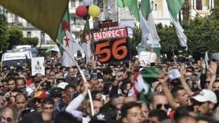 Algeria protests - 56th Friday AFP 13-03