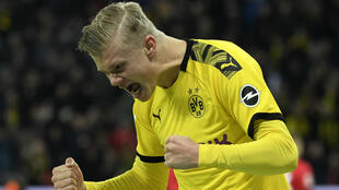 Erling Haaland, Borussia Dortmund striker and the most impressive young talent of the day.