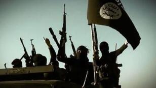 """صورة من فيديو دعائي لتنظيم """"الدولة الإسلامية"""""""