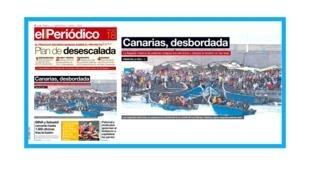 Arrivées massives de migrants sur l'archipel espagnol des Canaries