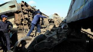 Au moins 36 personnes ont péri le 11 août dans la collision de deux trains à l'entrée de la ville d'Alexandrie.