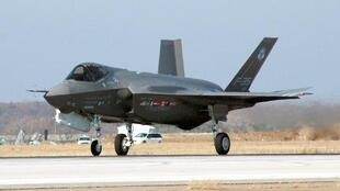 A F-35 Joint Strike Fighter Lightning II at Fort Worth, Texas.