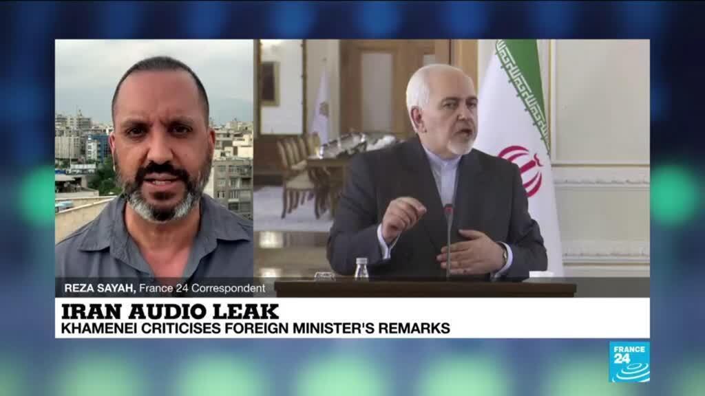 2021-05-03 14:01 Iran audio leak: Khamenei criticises foreign minister's remarks