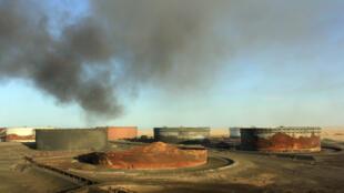 Le terminal pétrolier libyen d'al-Sedra, dont le général Haftar a pris le contrôle le 11 septembre 2016.