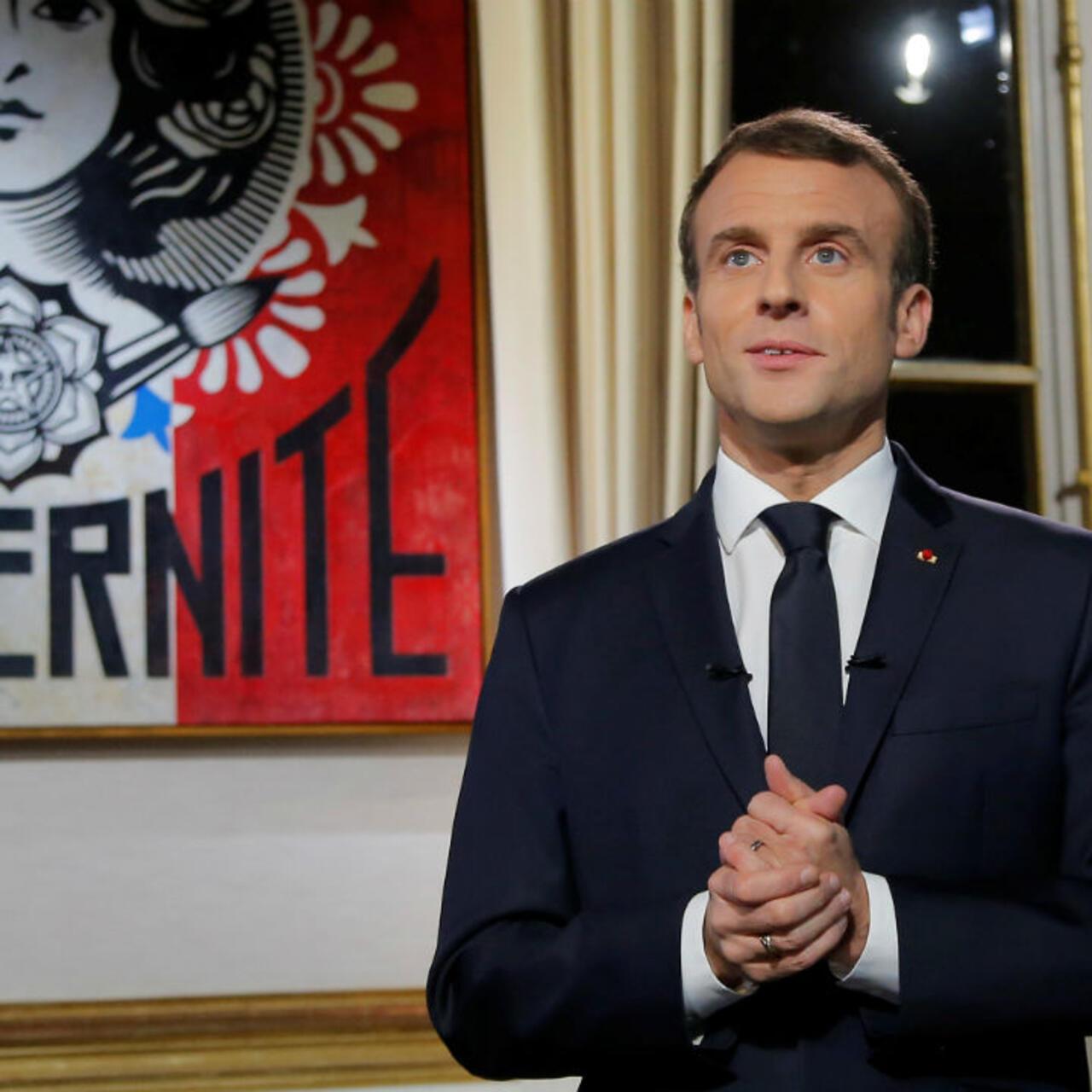 Vœux Presidentiels Emmanuel Macron Peine A Convaincre L Opposition