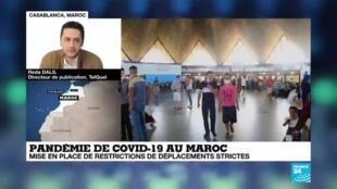 2020-07-28 00:06 Pandémie de covid-19 au Maroc : restrictions de déplacements strites
