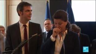 2020-02-17 14:05 Ministère de la Santé : Agnès Buzyn émue aux larmes lors de sa passation de pouvoirs
