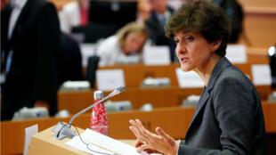 Sylvie Goulard auditionnée par les députés du Parlement européen le 10 octobre.
