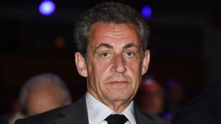 Nicolas Sarkozy, le 20 avril à l'assemblée générale du groupe AccorHotels, dont il est administrateur.