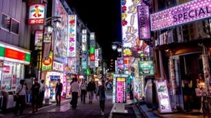 Kabukichō, dans l'arrondissement de Shinjuku, à Tokyo.