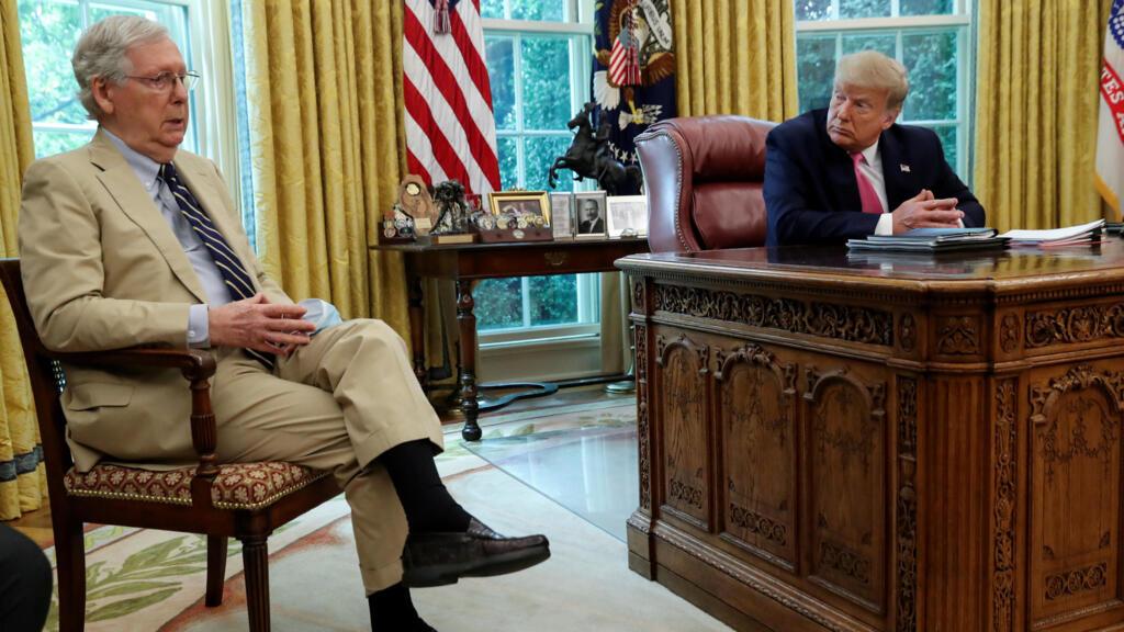 Trump slams 'sullen' McConnell in deepening feud between top Republicans