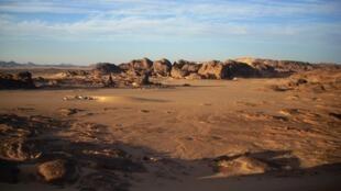 ولاية تمنراست أقصى جنوب الجزائر حيث تم احتجاز لاجئين عرب بحسب المفوضية الأممية للاجئين.
