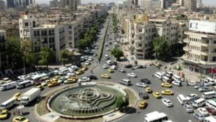 صورة عامة لمدينة دمشق
