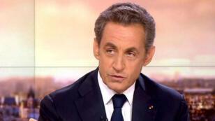 Le président de l'UMP est venu présenter ses propositions de lutte contre le terrorisme, le 21 janvier sur France 2.