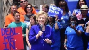 Hillary Clinton dispose d'assez de délégués pour remporter l'investiture démocrate.