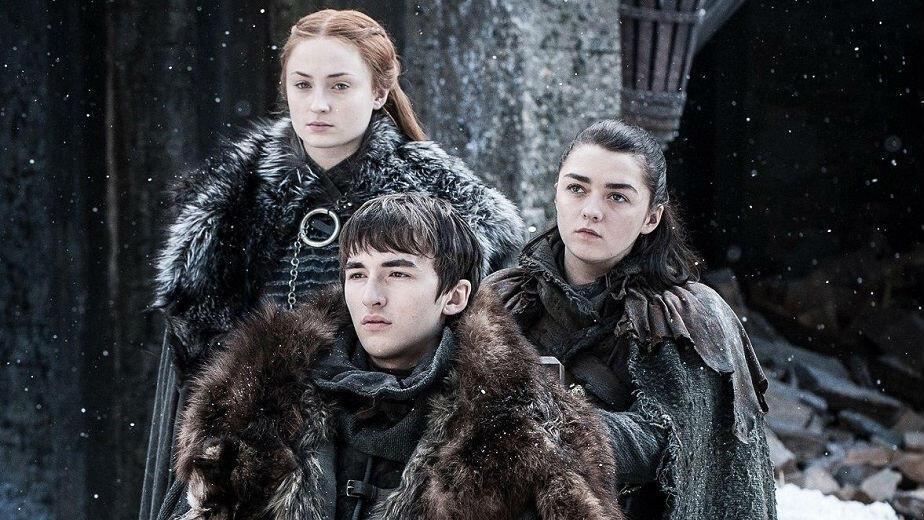 Imagen de los hermanos Stark, de la serie 'Juego de Tronos', 'Game of Thrones'.