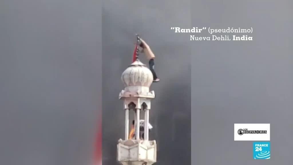 Los observadores violencia India musulmanes