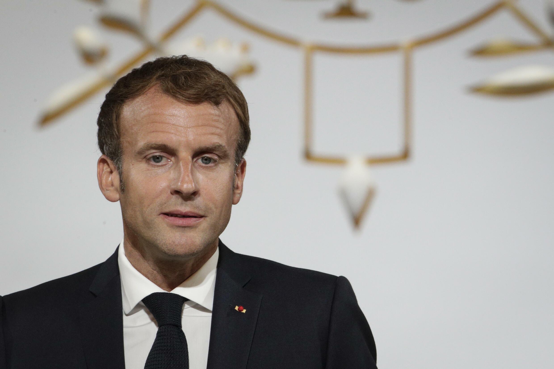 Le président Emmanuel Macron le 20 septembre 2021 à Paris