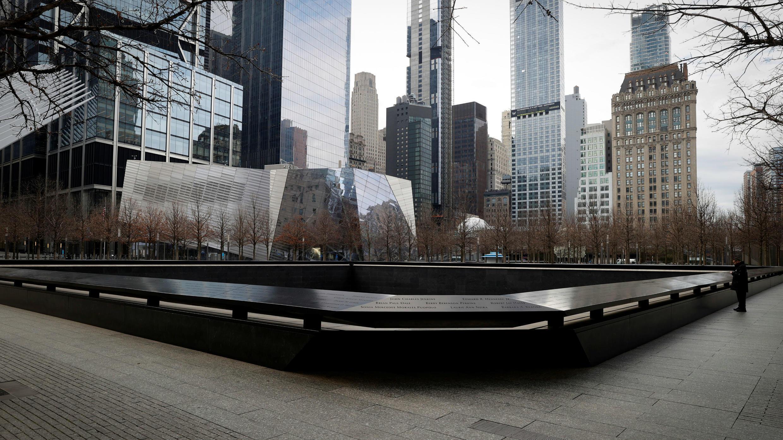 El 911 Memorial and Museum permanece cerrado durante el brote del Covid-19 en la ciudad de Nueva York, EE. UU., el 27 de marzo de 2020.