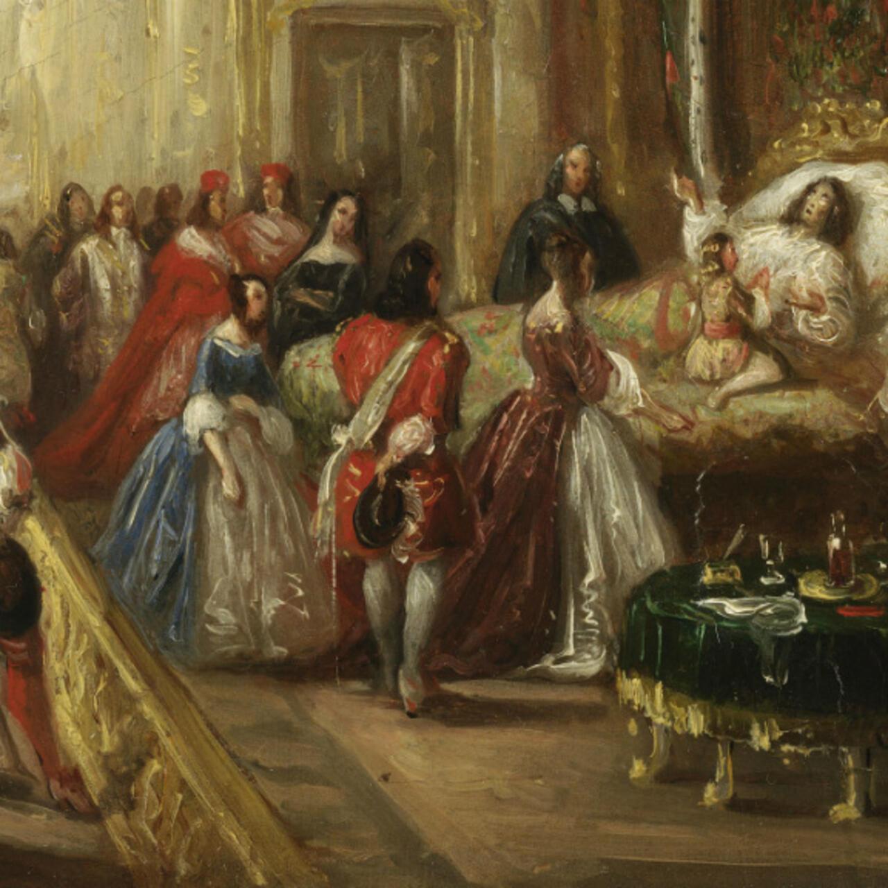 Leroiestmort Le Chateau De Versailles Fait Revivre La Mort De Louis Xiv Sur Twitter