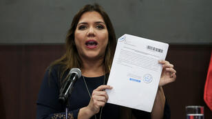 María Alejandra Vicuña, el pasado martes 27 de noviembre del 2018, en el Palacio de Gobierno, en Quito (Ecuador).