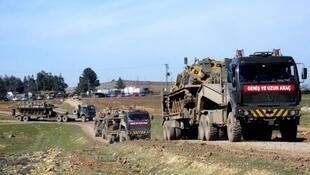 قوات تركية على الأراضي العراقية