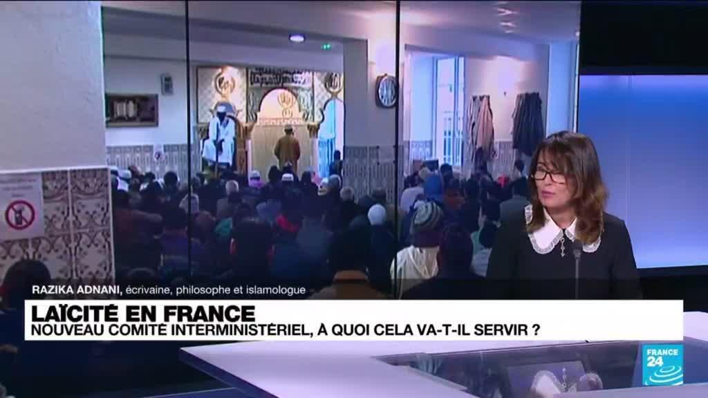 """2021-07-15 11:08 Laïcité en France: """"C'est nécessaire que l'Etat protège la laïcité"""""""