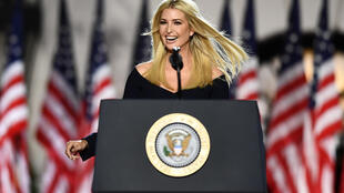 "Ivanka Trump, daughter and advisor to the US president, said America deserves her ""warrior"" father in the White House for four more years"