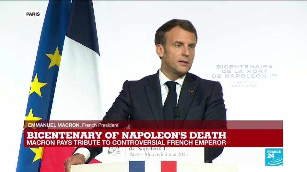 'Napoléon is a part of us', French President Macron says