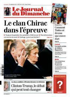 Chirac in Le Journal du Dimanche