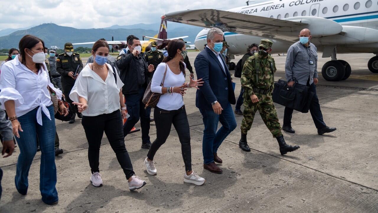 Colombia: presidente Iván Duque regresa a Cali, epicentro de las protestas en el país