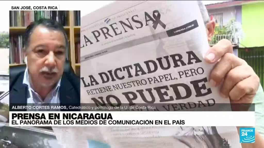 """2021-08-13 14:34 Alberto Cortes: el Gobierno Ortega """"tiene una legislación represiva y persecutoria del periodismo"""""""