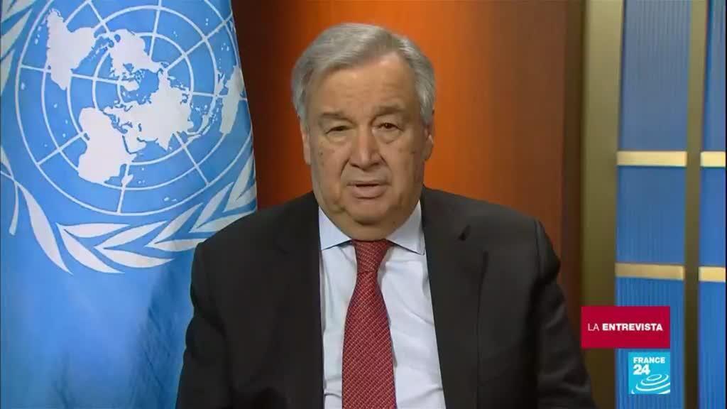 La Entrevista Antonio Guterres