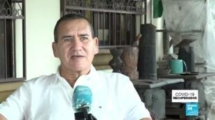 Óscar Zamora Alcázar, un conductor costarricense dedicado al turismo, sobrevivió al Covid-19 luego de luchar contra la enfermedad durante 32 días.