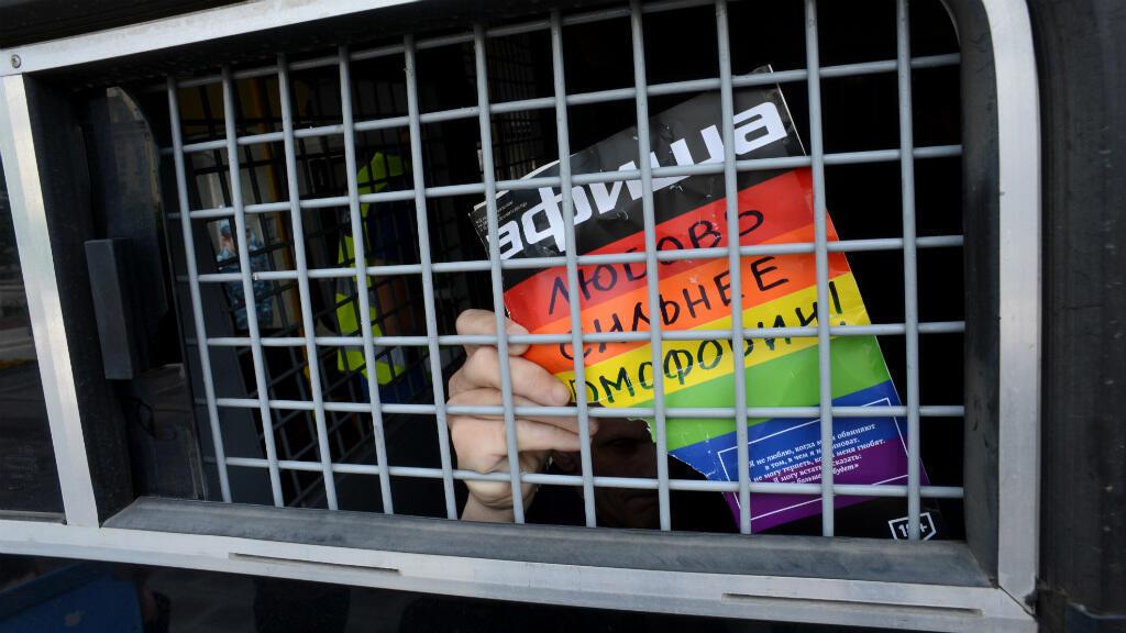 En Tchétchénie, une centaine de personnes soupçonnées d'homosexualité ont été persécutées.
