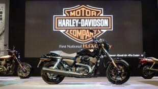 À la Bourse de New York lundi, le titre du constructeur de motos Harley-Davidson a chuté de 5,97 %.