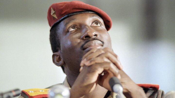 L'ancien président burkinabè Thomas Sankara, assassiné en 1987.