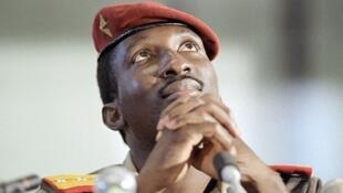 L'ancien président burkinabè Thomas Sankara, assassiné en 1987.