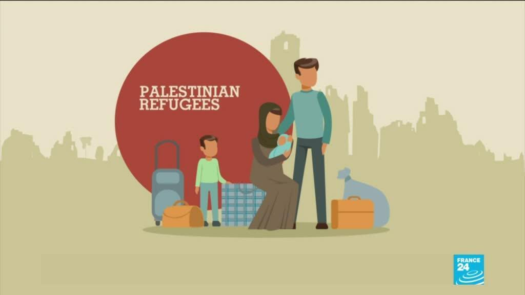 The UNRWA marks its 70th anniversary offering relief services to Palestinian refugees.