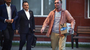 Le journaliste d'investigation russe Ivan Golunov, accusé de tentative de trafic de drogue, a été libéré le 11 juin 2019.