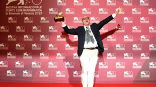 Le réalisateur Gianfranco Rosi.