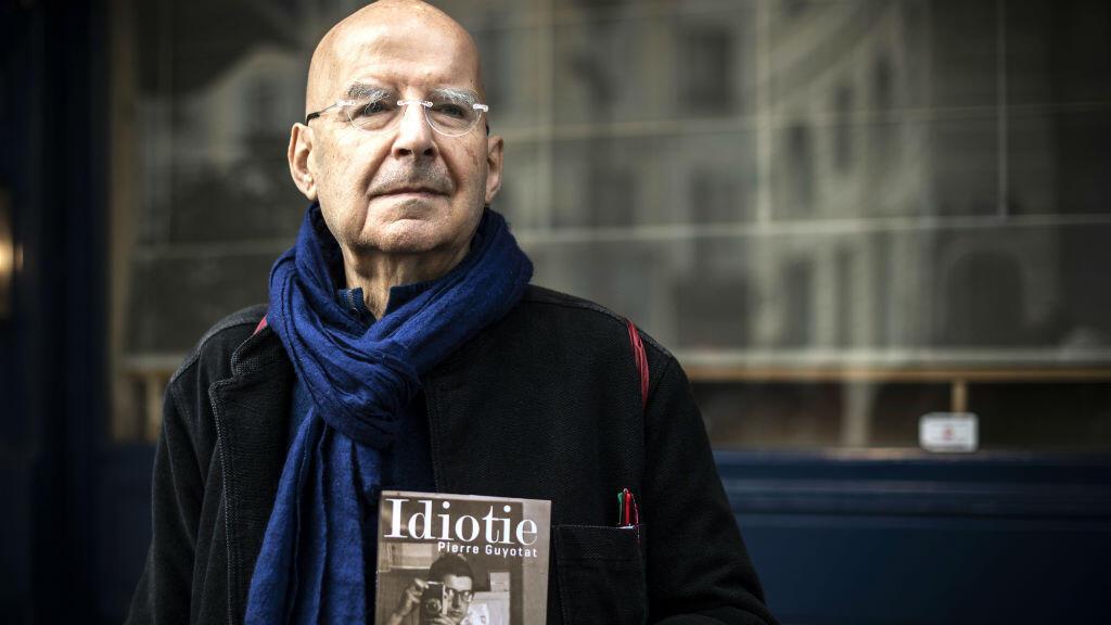 Pierre Guyotat à Paris, le 6 novembre 2018.