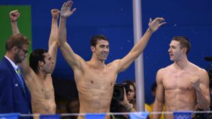 Michael Phelps a décroché sa 23e médaille d'or aux Jeux olympiques.