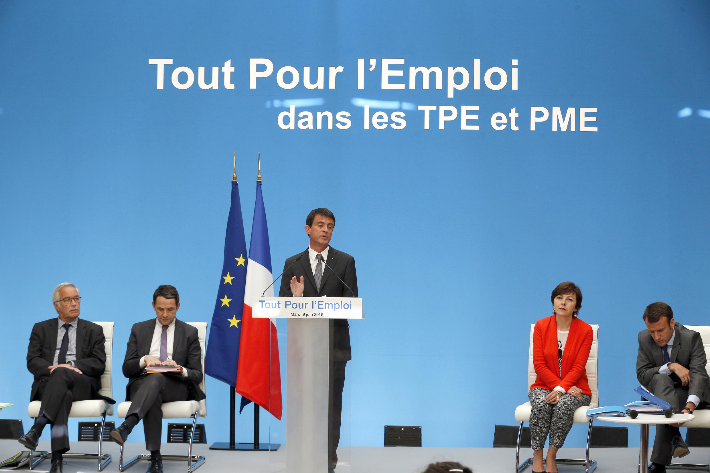 Le Premier ministre français Manuel Valls, le 9 juin 2015.