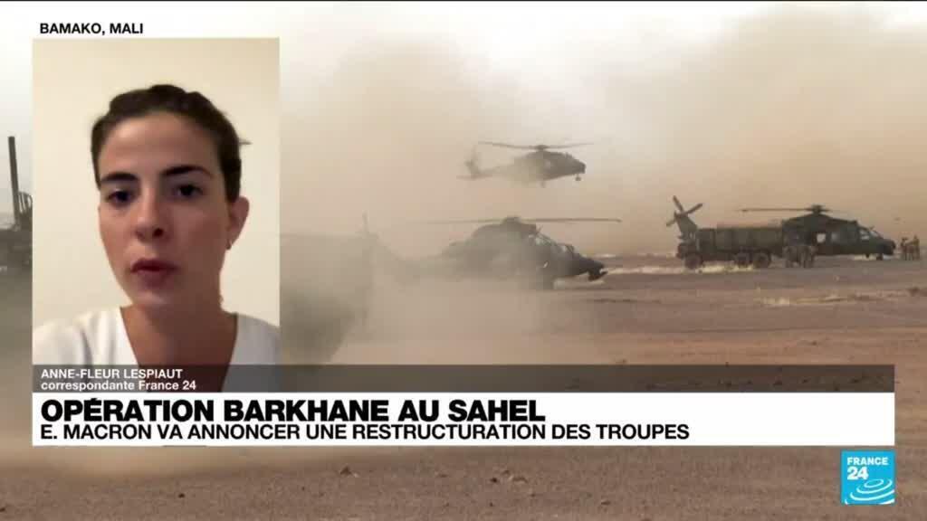 2021-06-10 16:01 Opération Barkhane au Sahel : Emmanuel Macron va annoncer une restructuration des troupes