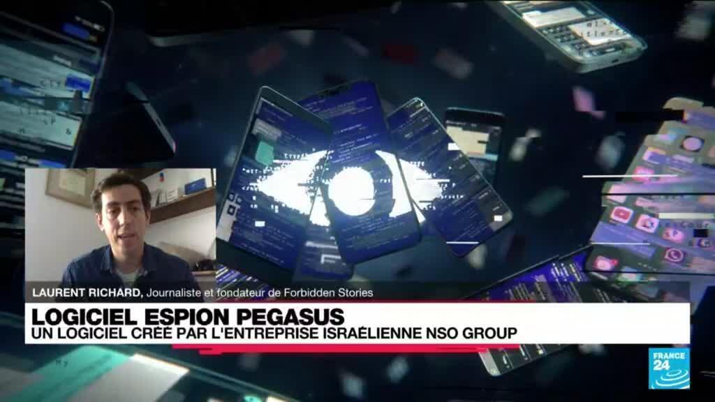 2021-07-19 14:33 Logiciel espion Pegasus : révélations sur un système mondial d'espionnage